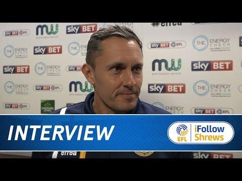 INTERVIEW | Paul Hurst post Rochdale  - Town TV