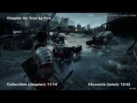 Ryse: Son of Rome - 100% Collectibles Guide - All Chapters - All Chronicles/Scrolls/Vistas