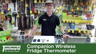 Companion Wireless Fridge Thermometer Demonstration & Review | Keep A Close Eye On Your Fridge!