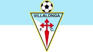 Bandera y Escudo del Villalonga Fútbol Club - Sanxenxo (Pontevedra)