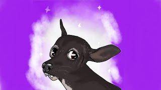 Freddie Mercury the Dog Fanart  Speedpaint 