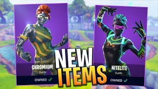 *NEW* ITEM SHOP EXCLUSIVE SKINS, PICKAXES AND GLIDERS (SEASON 4) - Fortnite Battle Royale