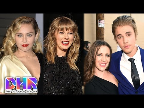 Miley Cyrus SHADES Taylor Swift?! - Justin Bieber's Mom DOES NOT Approve of His Engagement?! (DHR)