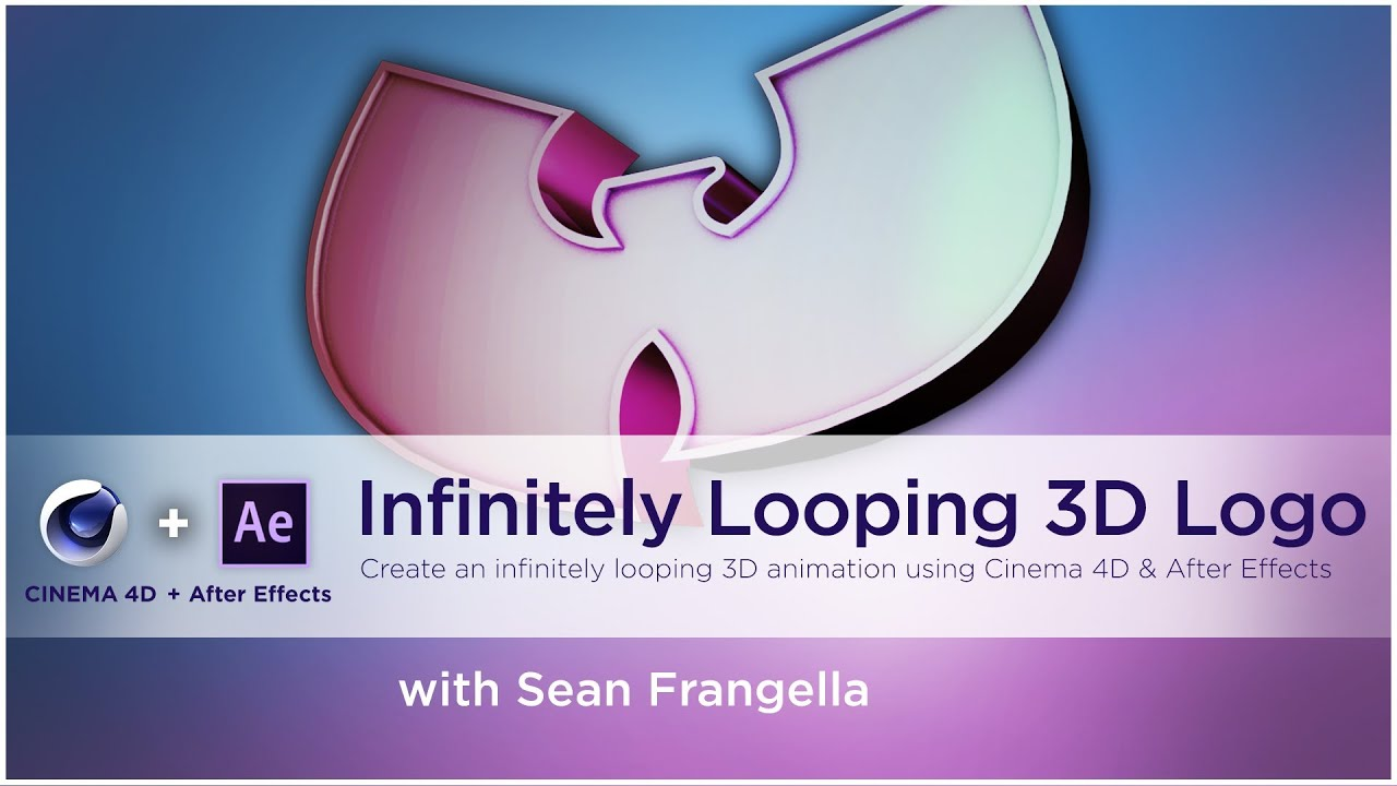 How to Create an infinitely Looping 3D logo using Cinema 4D