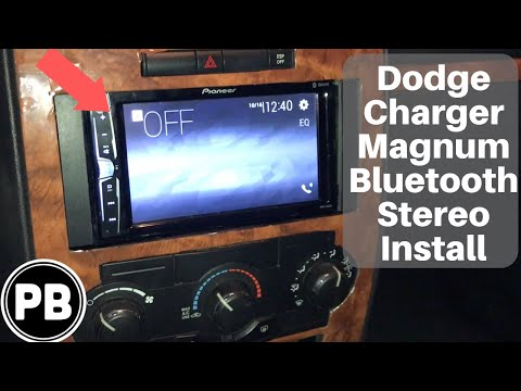 2006 - 2010 Dodge Charger / Magnum / Challenger Stereo Install - YouTubeYouTube