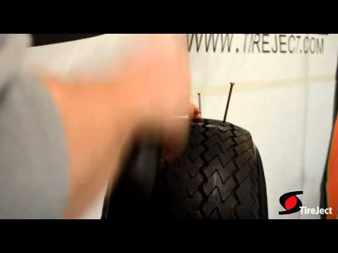 TireJect Tire Repair Promo – Tire Puncture Demo