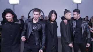 Ada + Nik AW14/15 'The Dark Wolf' at London Collections: Men