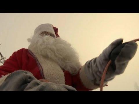 Babbo Natale Wikipedia.Babbo Natale E Partito Dalla Lapponia Sta Arrivando Youtube