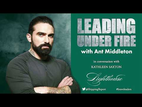 Leading Under Fire with Ant Middleton at Advertising Week Europe