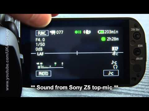 Better sound from Canon Legria / Vixia camcorders