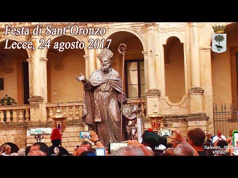 Festa di Sant'Oronzo: Solenne processione - Lecce, 24 agosto 2017 - HD 1080p