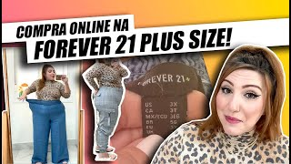 COMPRAS NA FOREVER 21 PLUS SIZE ONLINE!
