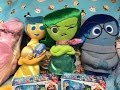 Disney Pixar Inside Out Movie Plush Bing Bong Joy Sadness Disgust Plus New Reading Books Preview!
