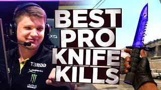 CS:GO - BEST PRO KNIFE KILLS ft. s1mple, stewie2k, JW&MORE!