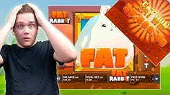 FATTEST WIN ON YOUTUBE? 25€ BET FULL SCREEN OF WILDS - FAT RABBIT - PUSH GAMING