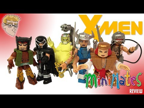 Marvel MINIMATES WOLVERINE Wave Figure REVIEW - 2017 TOYS R US Exclusive Series