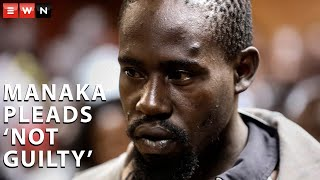 Aubrey Manaka, who is charged for raping and stabbing Limpopo student Precious Ramabulana 52 times and most recently the rape of a minor , pleaded not guilty to the five charges against him on Tuesday.   #AubreyManaka #PreciousRamabulana #GenderBasedViolence