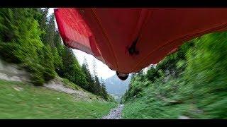360, VR video Wingsuit Proximity Flying BASE jump