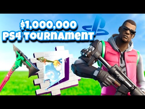 How To Enter The $1,000,000 PS4 TOURNAMENT + FREE REWARDS IN Fortnite!