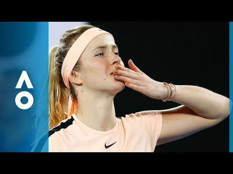 Denisa Allertova v Elina Svitolina match highlights (4R)   Australian Open 2018