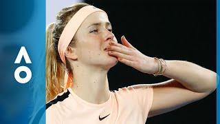 Denisa Allertova v Elina Svitolina match highlights (4R) | Australian Open 2018