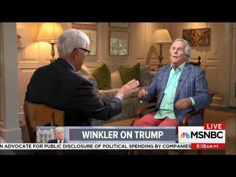 MSNBC LIVE  THE FONZ INTERVIEWED BY HUGH HEWITT   WOW 09 02 2017