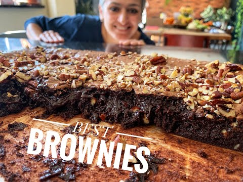 best-brownies-recipe-|-fudgy-chocolate-brownies-|-cook-with-me-|-#withme-|-food-with-chetna