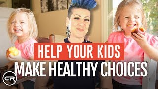 How to help your kids make healthy choices (code red lifestyle tips for parents)
