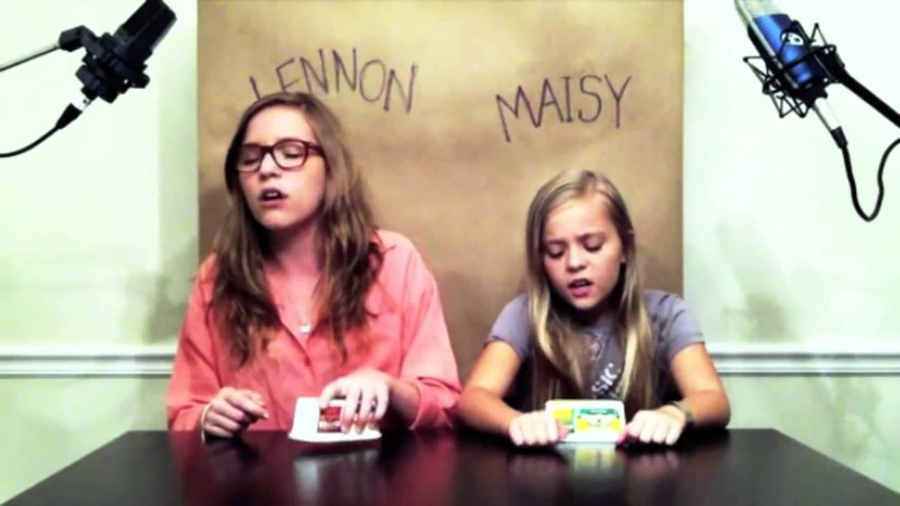39 call your girlfriend 39 cover by lennon maisy youtube - Lennon and maisy bio ...