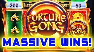 MASSIVE BONUS & JACKPOT WINS ★ FORTUNE GONG ➜ HOT NEW GAME BY IGT!