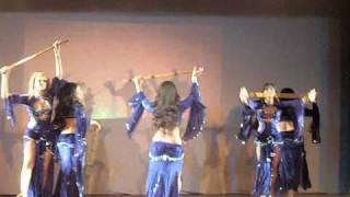 Zeina Bellydance - Espetáculo Difilmes 2010
