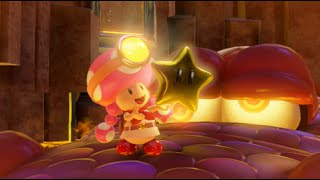 Captain Toad: Treasure Tracker 100% Walkthrough Part 6 - Onward, Toadette!