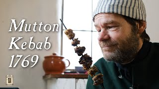 Middle Eastern Influence In Early English Cooking - Mutton Kebabs