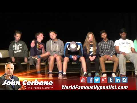 Comedy Hypnotist, John Cerbone High School Senior Night Show Highlights