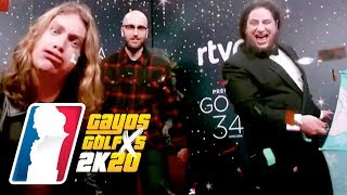 EL MEJOR GLAMBOT de los Goya 2020 de ARKANO, SARA SOCAS, GRISON, CARAVACA Y PINACHO | GAYOS GOLFXS