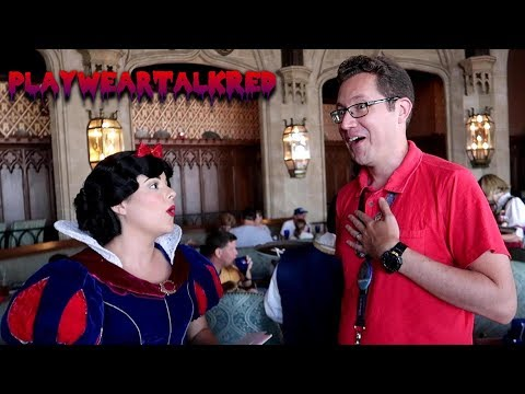 Walt Disney World - Lunch at Cinderella's Royal Table