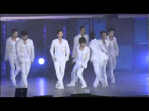 SUPER SHOW 3 DVD | 03. Super Girl REMIX LIVE (SUPER JUNIOR) [HQ] 111223