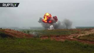 RAW: Second stage of joint Russia-Belarus military drills Zapad 2017 kick off