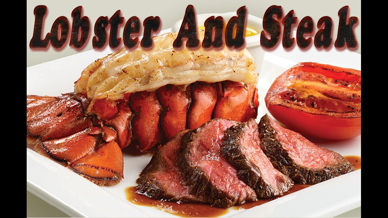 LOBSTER AND STEAK DINNER - YouTube
