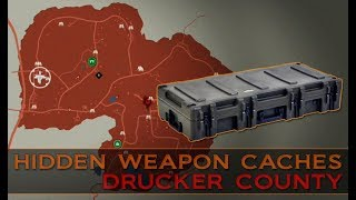 State of Decay 2 ~ Hidden Weapon Caches [Drucker County]