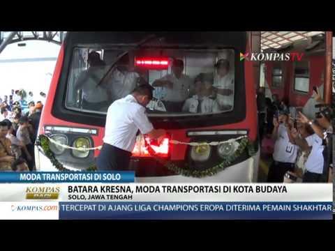 Railbus Batara Kresna Mulai Beroprasi di Solo