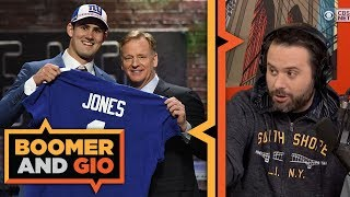 The Giants WASTE the 6th pick in the NFL Draft | Boomer & Gio