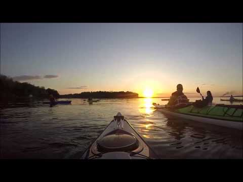 Sunset Kayaking on the Patuxent River
