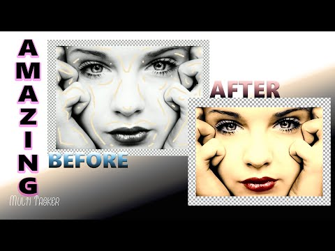 WoW just in few minutes amazing color with old software Tutorial urdu thumbnail