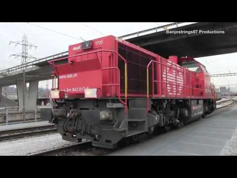 Exclusive Access ~ Muttenz Freight Yard / Marshalling Yard (Basel)