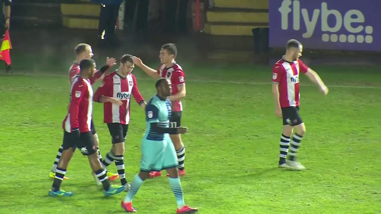 David Wheeler: 8 in 7 | Exeter City Football Club - YouTube
