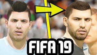 FIFA 19 NEW FACE CONCEPTS (Kane, Aguero, Gabriel Jesus & More)