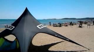 Capo Vieste  Gargano ingresso al mare camping