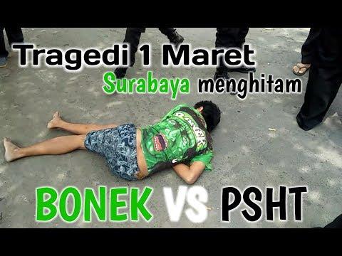 Gerakan 1 Maret PSHT Menghitamkan Surabaya