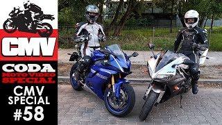 CMV Special #58: Czerwona fala, misja kosmetyczka, Yamaha YZF-R1 oraz R6 i Wizard - CODA MotoVideo